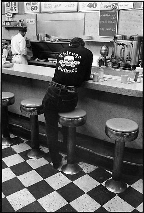Жизнь байкеров 50 лет назад