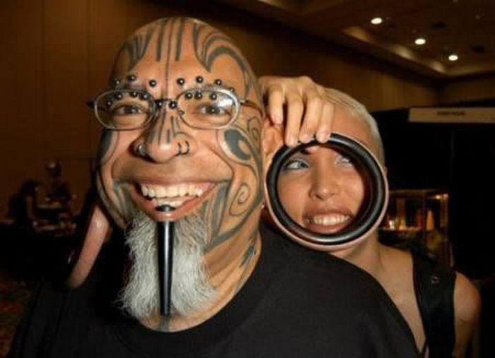 Люди, которые превратили своё тело в объект невероятных модификаций