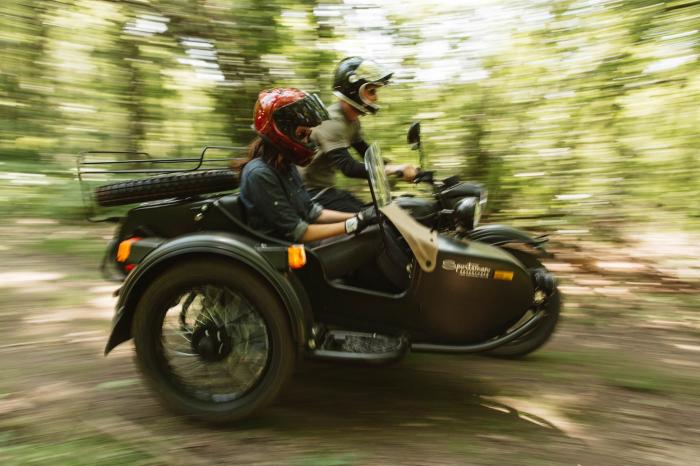 Новый мотоцикл Ural для Америки