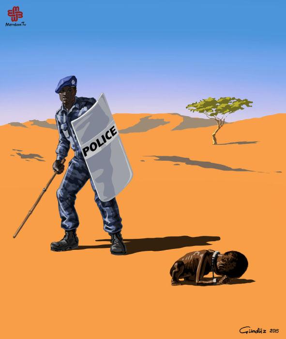 Полицейские в разных странах мира от Гундуза Агаева