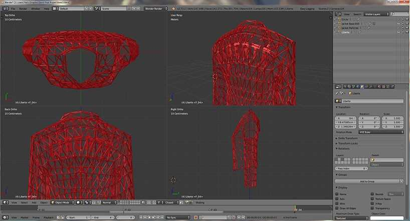 Коллекция женской одежды, напечатанная на 3D-принтере