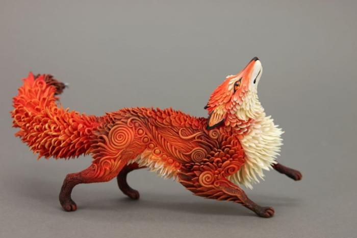 Сказочные игрушки от московского художника Евгения Хонтора