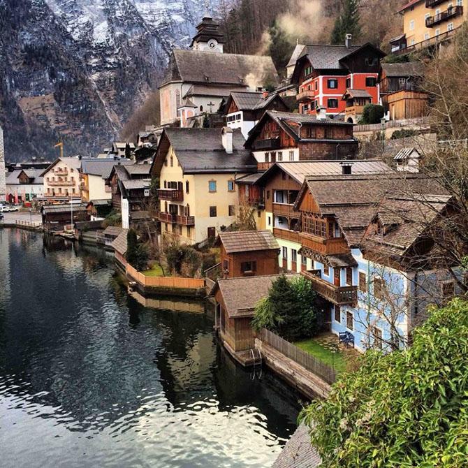 Маленькие сказочные города для путешествий