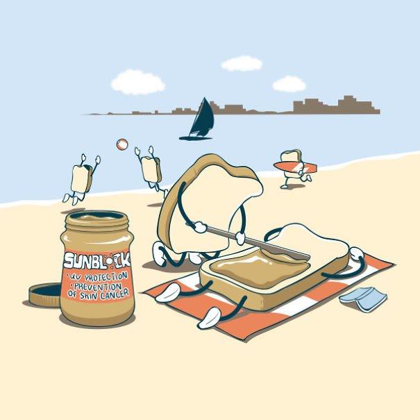 Повседневная жизнь еды и напитков от Flyingmouse365