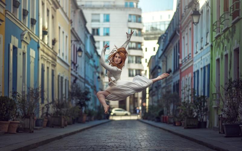Красота балерин на фотографиях