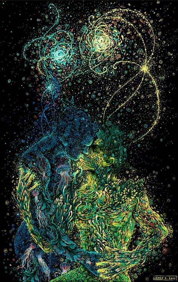Нарисованные в Photoshop картины от художника James R. Eads