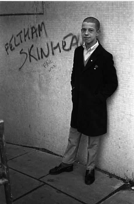 Скинхеды начала 80-х годов в Великобритании