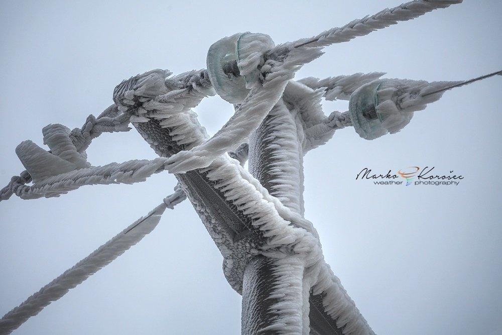 Полное оледенение от фотографа Марко Корозека