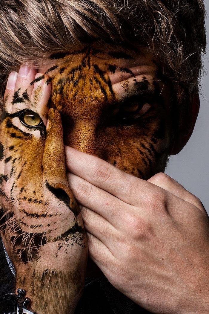 Фотопроект в защиту хищников в неволе