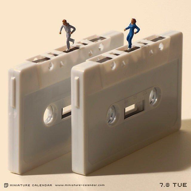 Календарь миниатюр от Танаки Тацуя