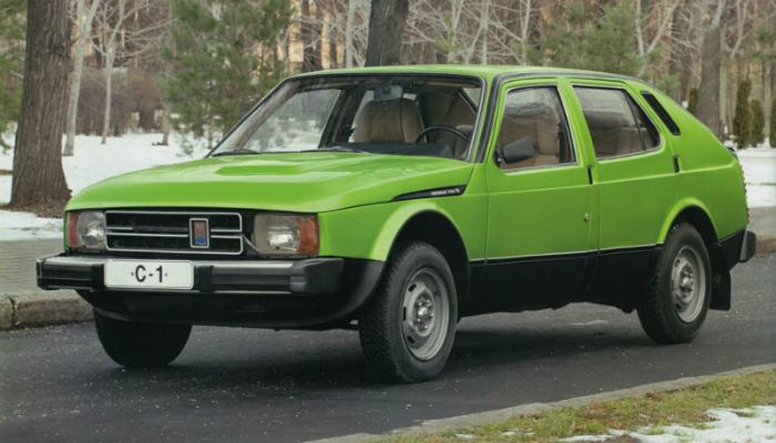 Необычные автомобильные концепты из СССР