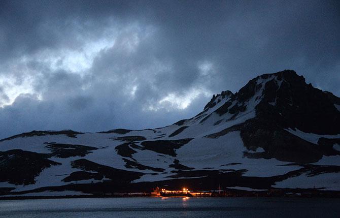 Путешествие в Антарктиду