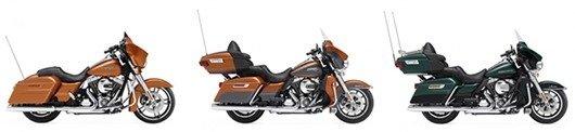 Чем различаются мотоциклы Harley-Davidson