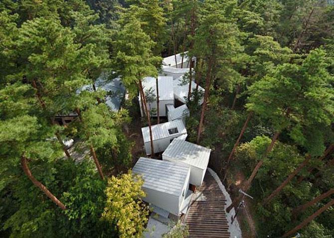 Интересные дома с необычным дизайном
