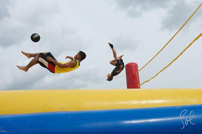 Странные виды спорта от Сола Нилмена