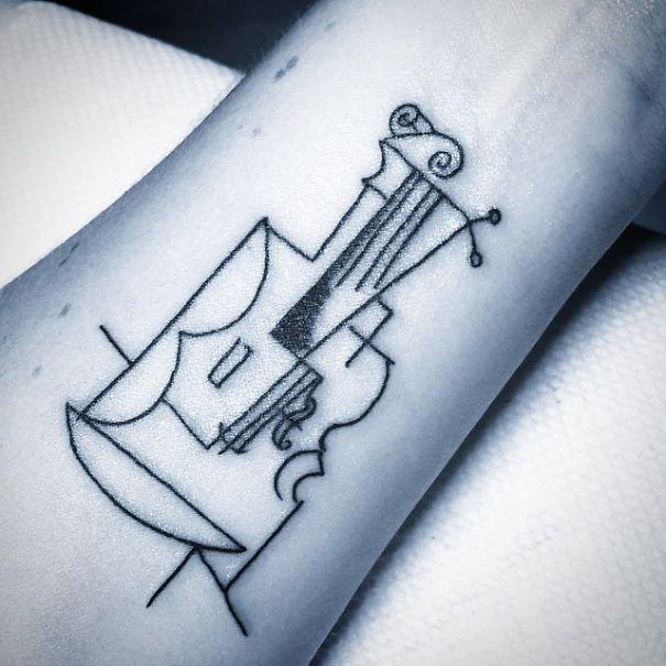 Татуировки, вдохновлённые творчеством Пабло Пикассо
