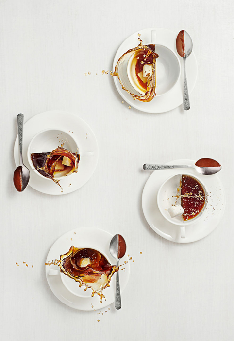 Натюрморты со сладостями и кофе от Дины Беленко