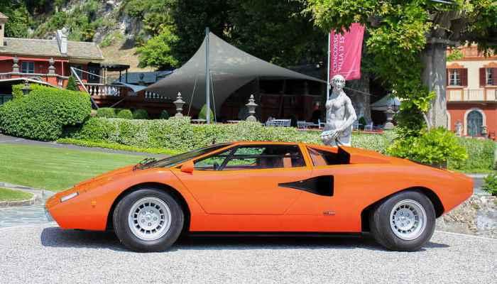 Интересные и малоизвестные факты о Lamborghini Countach
