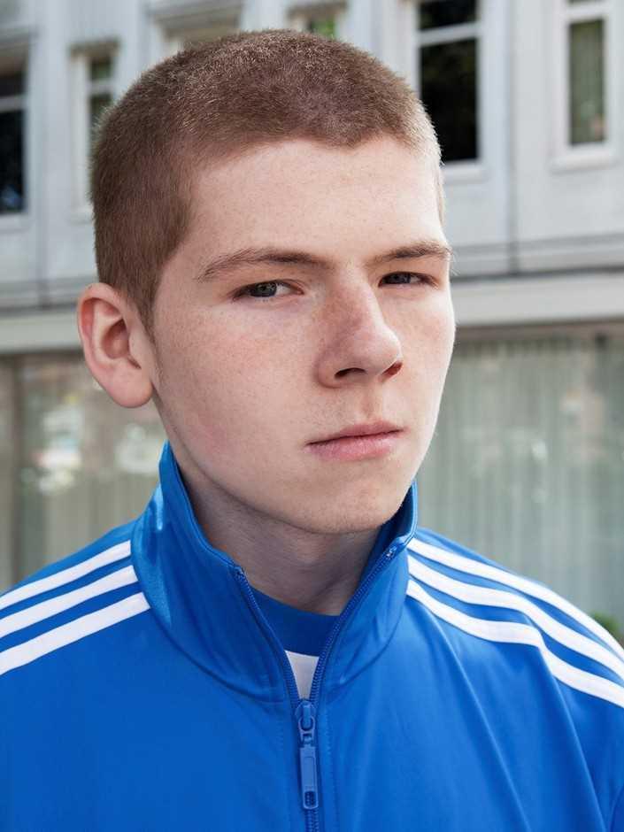 Портреты молодых людей с улиц Манчестера