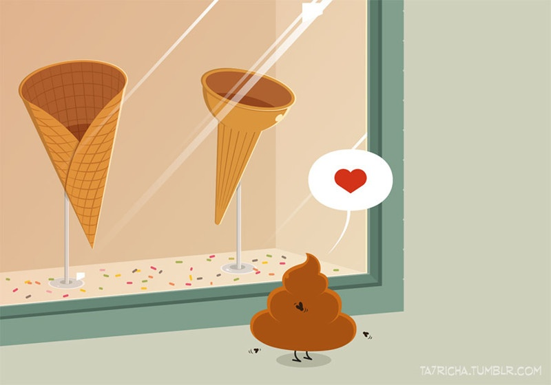 Простые вещи в иллюстрациях Ta7rich