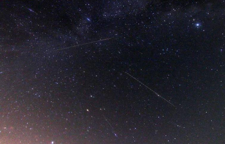Красота метеорного потока Персеиды