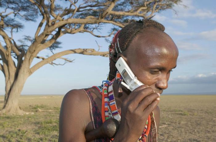 Современные технологии в жизни племен