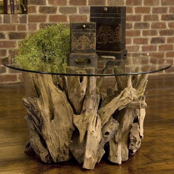 Необычная мебель из коряг