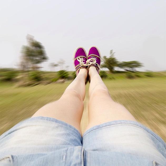 Популярные ноги в Instagram