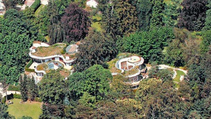Роскошный лесной особняк в Баварии