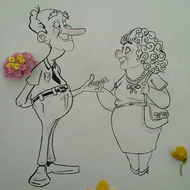 Забавные иллюстрации с предметами