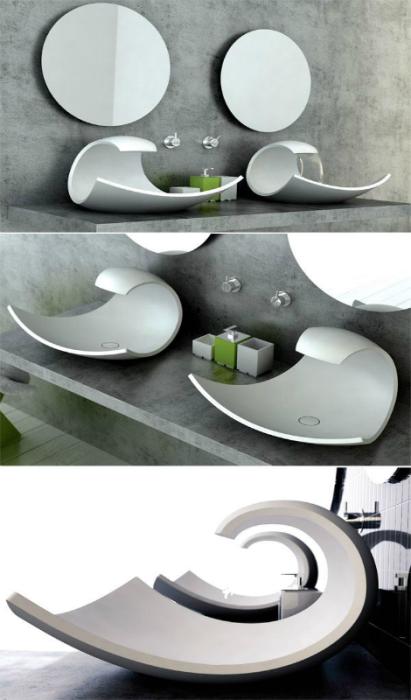 Изысканные дизайнерские раковины