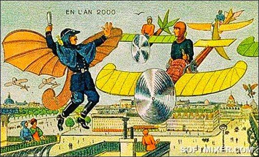 Как в 1900 году люди представляли себе наше настоящее