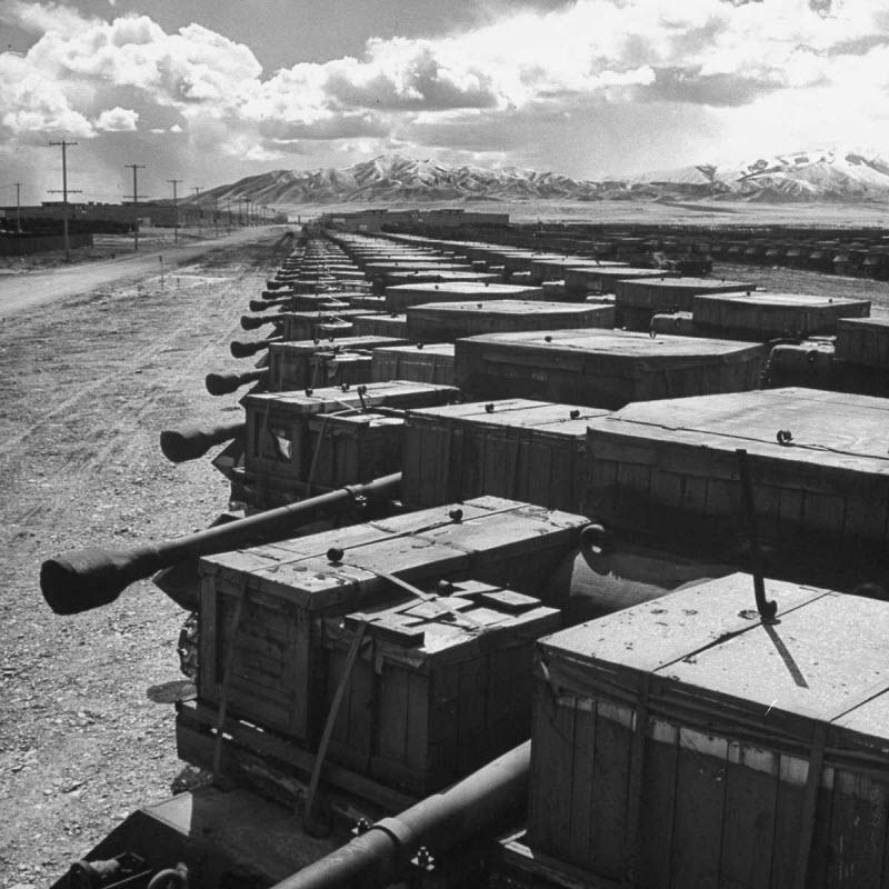 Кладбища военной техники в США (1946-1949 год)