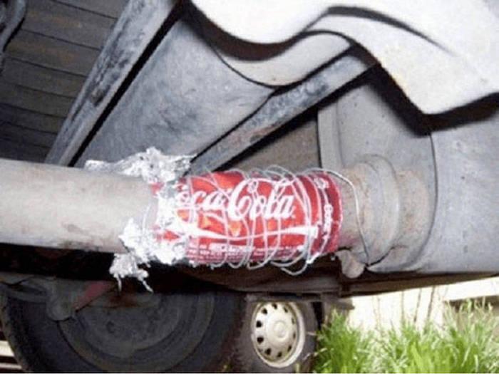 Шедевры настоящих мастеров ремонта: автомобильная версия