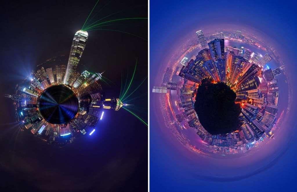 Если бы города были небольшими планетами