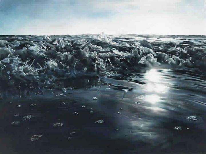 Гиперреалистичные картины от Зарины Форман
