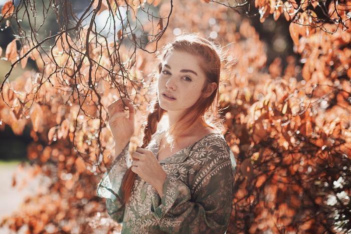 Красота рыжих девушек на фотографиях Руби Джеймс