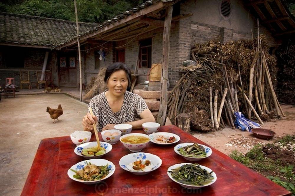 Что едят самые обычные люди со всего мира