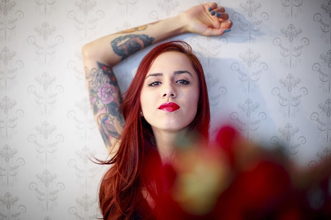 Девушки из бразильского тату-салона Sampa Tattoo