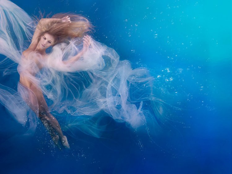 Подводные портреты от Дженн Бишоф
