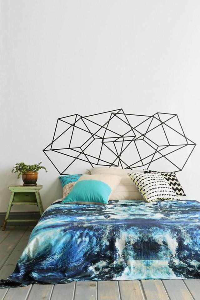 Дизайнерские решения для изголовья кровати