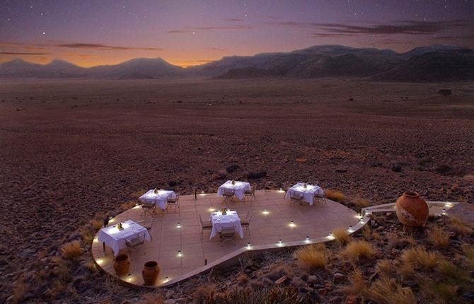Экзотические отели в труднодоступных уголках нашей планеты