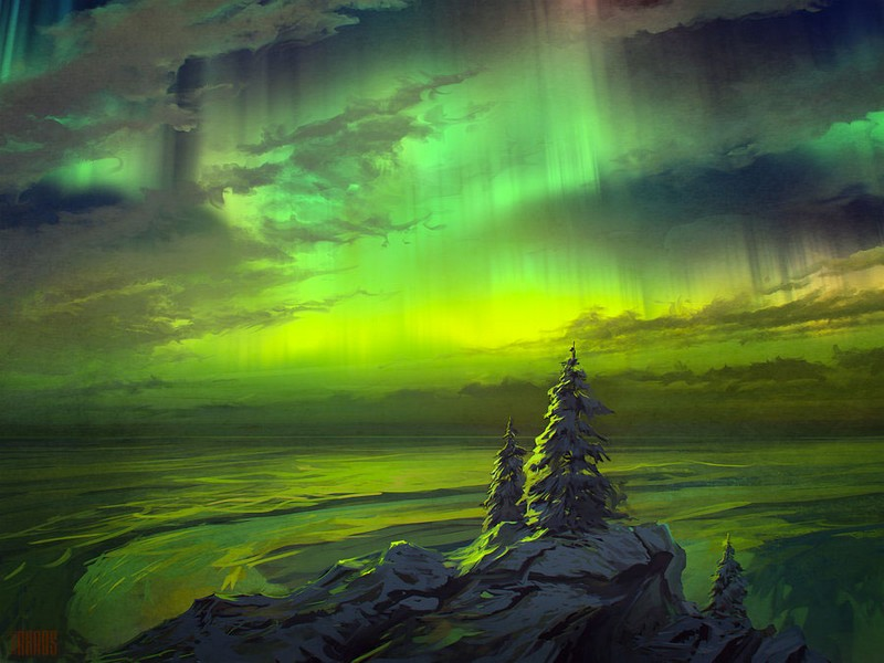 Красочные картины от русского художника RHADS