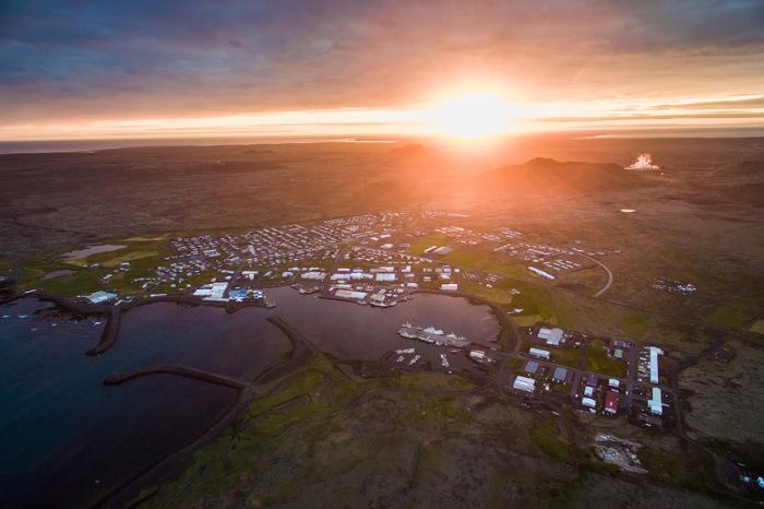 Красота Исландии с высоты птичьего полета