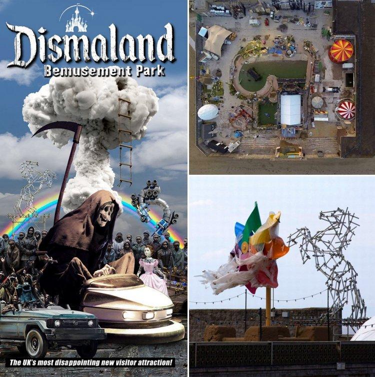 Мрачный Диснейленд - парк Dismaland от Бэнкси