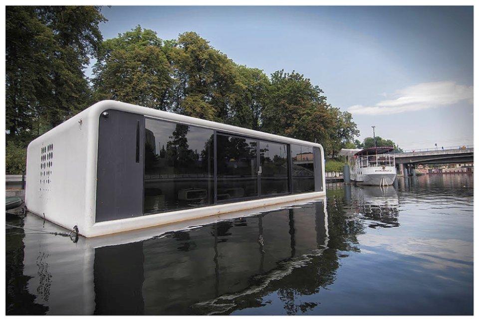 Прототип футуристического плавающего дома