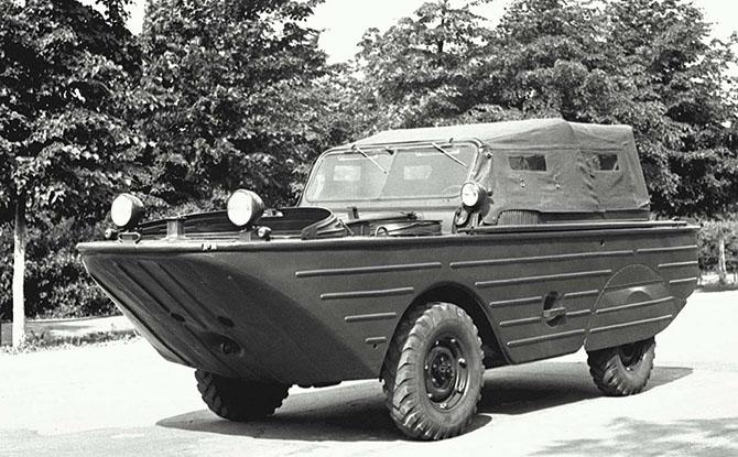 Советские водоплавающие автомобили-амфибии