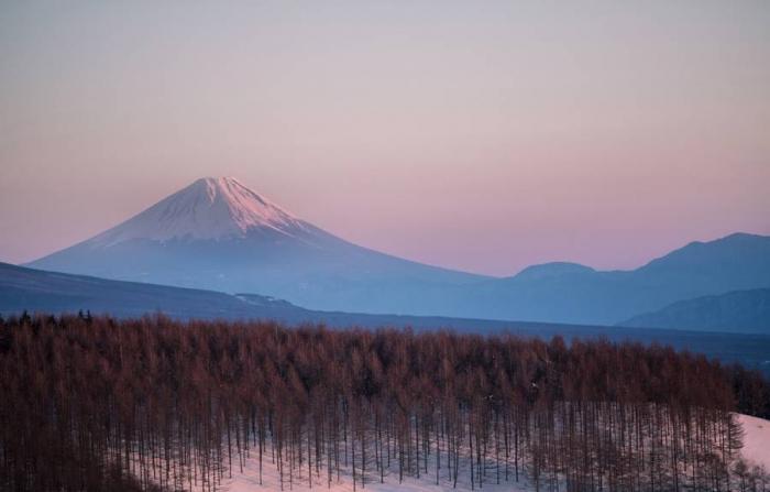 Японские пейзажи на фотографиях Хиденобу Сузуки