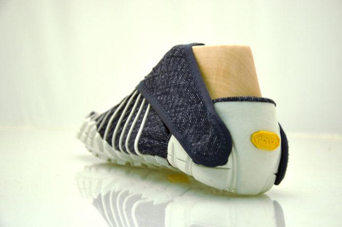 Кроссовки, которые повторяют форму ноги