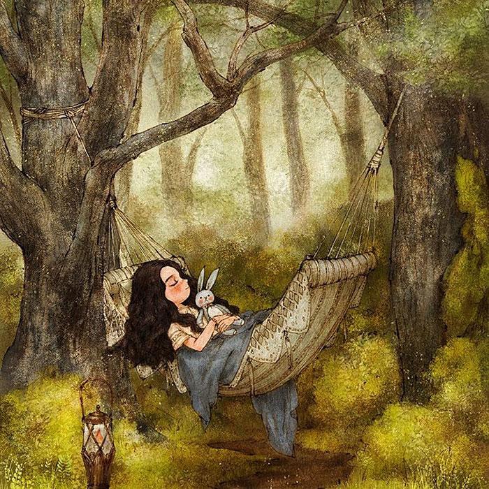 Романтические иллюстрации от Aeppol